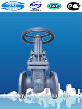 class A cast steel stem gate valve manual china suppliers
