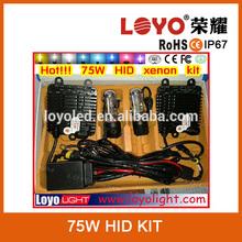 hid xenon kit wholesale auto 75w 100w xenon hid kit car hid kit