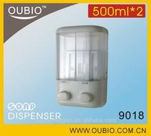 CHEAP DOUBLE LIQUID SOAP DISPENSER 9018(500ML*2)