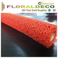 Wholesale Mesh fabric Roll backpack fabric material flower wrapping material