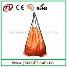 Promotional custom logo printed drawstring bag,basketball gym drawstring bag with long rope