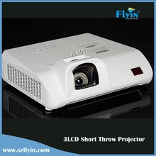 3LCD Short Throw Projector 3500 ANSI Lumens 1080P Full HD Portable Education data show projector
