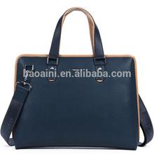 Wholesale high-end genuine leather briefcase business men bags big shoulder bags