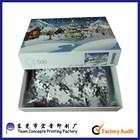 high quality custom slide diy 1000 piece jigsaw puzzle