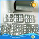 capsules and pills packaging cold form laminate foil ( alu alu )