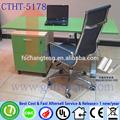 El muebles de jardín altura ajustable escritorio de la computadora utilizado sillas de barbero venta