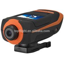 Extreme Sport camera 1080p AT90 Waterproof Go pro DVR Action camera helmet camcorders G-SENSOR camcorder 1920x1080p