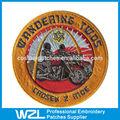 Roupas de marca logo para os motociclistas, bordado o logotipo do projeto no mínimo