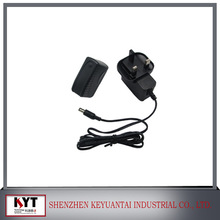 5V2A/12V1A universal travel adapter with CE,FCC,ROHS,KC approval