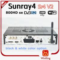 Sunray sr4 V2 sunray4 V2 hd se Triple tuner 3 Sunray 800Se hd Sr4 V2| sunray4 hd se sr4 800 SE V2 wifi inside,hot