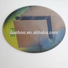 3D lenticular printing plastic file sticker