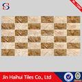 jhh libre de la muestra 30x60 venta al por mayor de madera mosaico de azulejo de la pared holográfica de miami