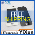 tft screen glass for apple iphone 5, for iphone 5 repair parts, digitizer assembly replacement for iphone 5