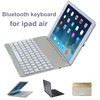 Latest hot sale aluminum bluetooth keyboard for ipad air