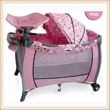 folding best selling walmart baby crib sets iron crib portable baby crib