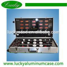 LED Demo Case,Aluminum LED light Display Case,Trolley test Demo Case
