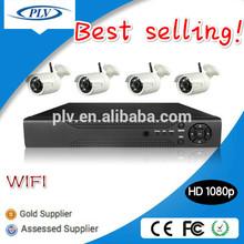 Alibaba best sellers 4Channel 1080p infrared cctv hd 1080 kit wifi,wireless video surveillance kit