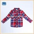 A nova( a5109) projeto o mais novo verificador de camisas miúdos nova mangas compridas camisas meninos top baby boys camisas