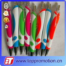 2015 High quality new design slim ball pen popular slim new model ball pen