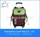 Carton Trolley School Bag,satchel bag 2014 kids oem trolley backpack,oxford fabric newest school Trolley bag