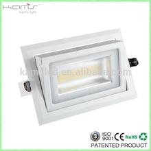 28W high lumin downlight/factory direct provide aluminum smd gimbal led downlight