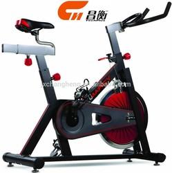 Xiamen 18kg flywheel spin bike/exercise equipment/gym bike