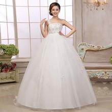 Waist strap dress fat MM wedding dress pregnant bride large yards bridal dresses