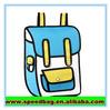 3d bag comic Cartoons bag school backpack for dios