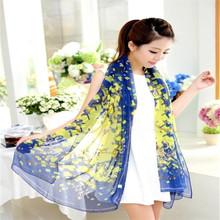 Fashion Lady Chiffon Silk Scarf