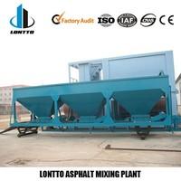 DHB 20tph mini plant hot asphalt