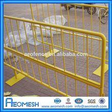 Cheap Wholesale Aluminum Decorative Crowd Control Post/traffic facility/iron crowd control barrier