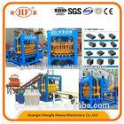 China advance technology, QT4-15D hydraulic concrete block machine