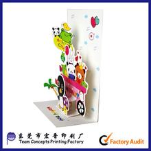 Wholesale Cheap Custom Printing 3D Handmade Birthday Card