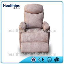 Single motor rocking recliner outdoor chair