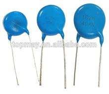 High Voltage Low Cost Radial Ceramic Disc Capacitor 102M