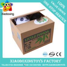 2014 hot selling will speak steal money cat plastic mischief saving box boy toys