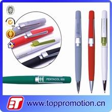 2015 High quality new design slim custom ball pen