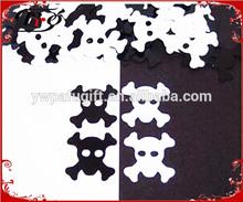 birthday party decorations skull shape boy confetti
