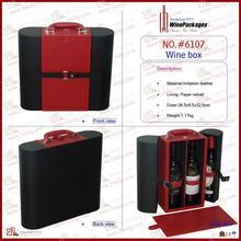 alibaba china hot selling 4 bottle travel leather wine holder