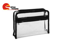 PVC Cosmetic Bag Manufacturer Custom Clear PVC Zipper Bag For Women