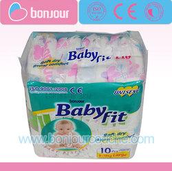 Diaper production line Babyfit Economical Baby Diapers Export