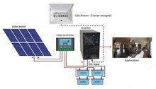 solar energy storage system off grid solar system, solar power system 3kw