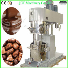 Planetary mixer and machine for chocolate making, candy mixing