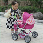 2014 brasil world cup orange color lovely baby doll stroller toy baby doll stroller