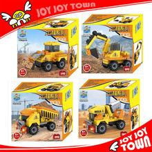 voce alibaba calda mattoni illuminare puzzel gioco di plastica costruzione del modello giocattoli per bambini 30104 gru del camion