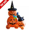Cheap inflatable halloween pumpkin and cat