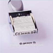 Metal Die-Plate Dater Stamp