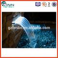Fuente de agua de pared, cascada decorativa para interiores de hogar