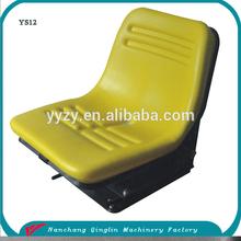 Tractor fiat 480 tractor asiento con amortiguador de pvc amarillo