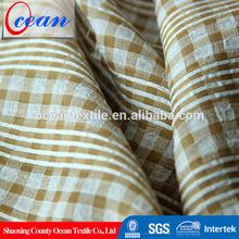 sweat pant fabric love doll, grid print fabric